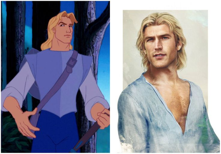This is what Disney princes would look like in real life