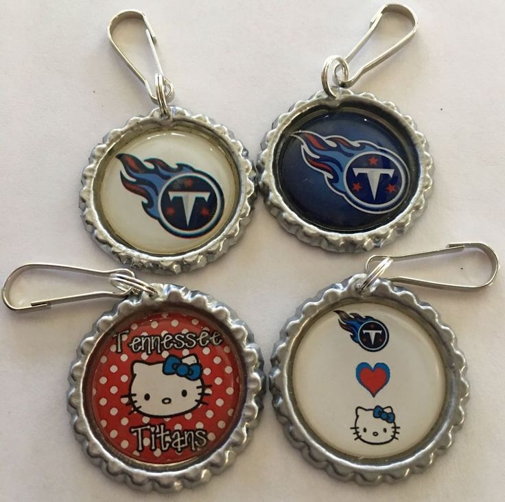 Handmade Tennessee Titans Hello Kitty Inspired Zipper Pull Purse Pull Gift set 4 | Sports Mem, Cards & Fan Shop, Fan Apparel & Souvenirs, Football-NFL | eBay!