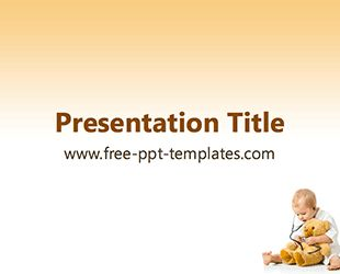 Pediatrics PPT Template | Free PowerPoint Templates