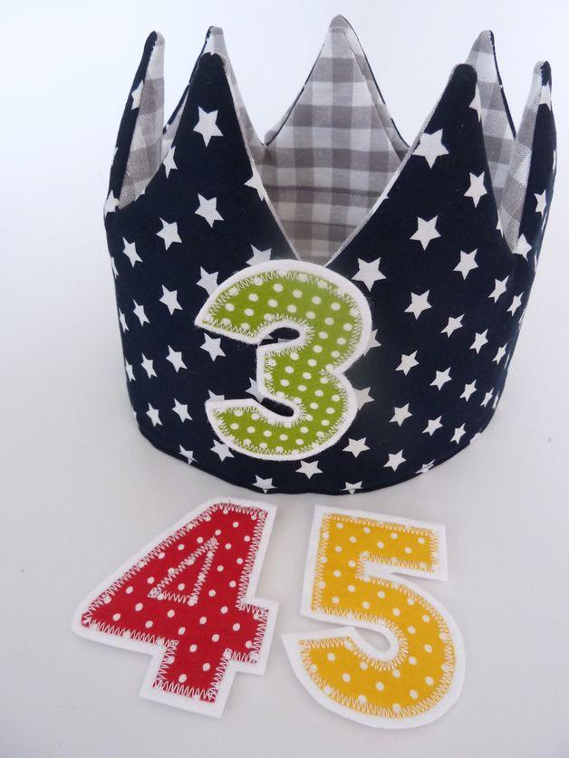 Süße Geburtstagskrone für kleine Jungs..