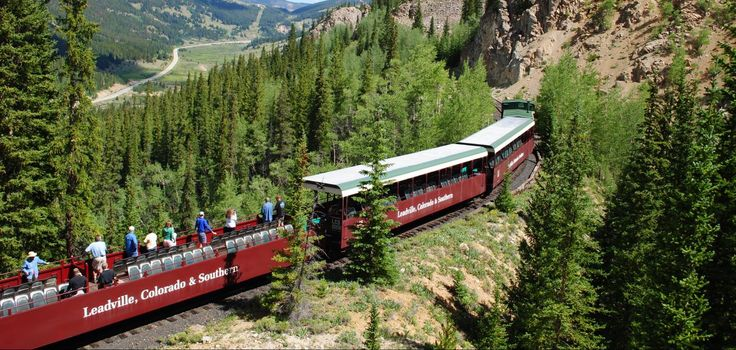 Leadville Scenic Train About 45 Minutes Outside Of