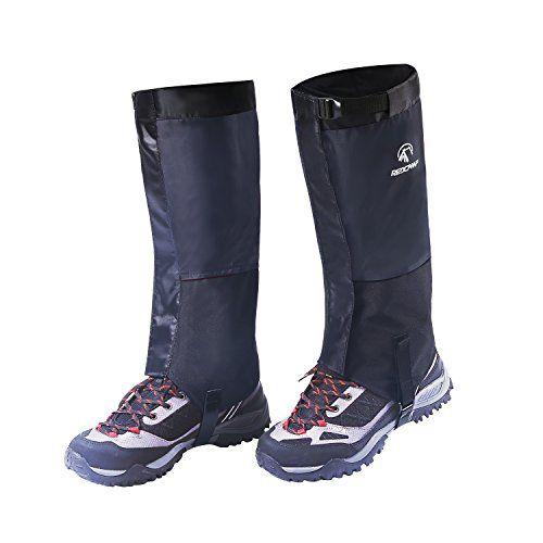 REDCAMP Hiking Gaiters Waterproof, Men Women Snow Leg Gaiters for Walking Climbing Hunting, 1 Pair   https://huntinggearsuperstore.com/product/redcamp-hiking-gaiters-waterproof-men-women-snow-leg-gaiters-for-walking-climbing-hunting-1-pair/