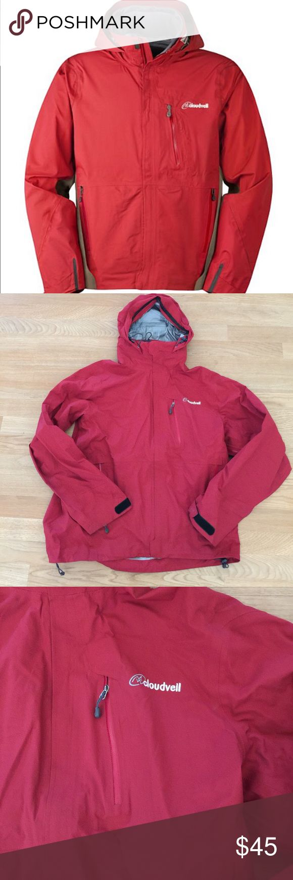 Men's Cloudveil raincoat Worn but in good condition great raincoat my husband just got a Patagonia that he likes more perfect for rainy season and camping bundle for a better price! cloudveil Jackets & Coats Raincoats