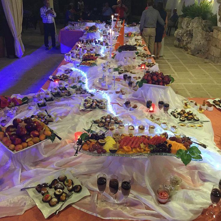 #parcodeiprincipi #salentoresort #salento #puglia #ugento #chef #cucina #cosebelle #cosebuone #dolci #delizie #grand #buffet sotto le stelle ...