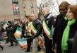 Mayor Bloomberg was dogged by jeers as he marched in a St. Patrick's Day parade through the Rockaways, booed by some residents frustrated with the city's response to Hurricane Sandy.