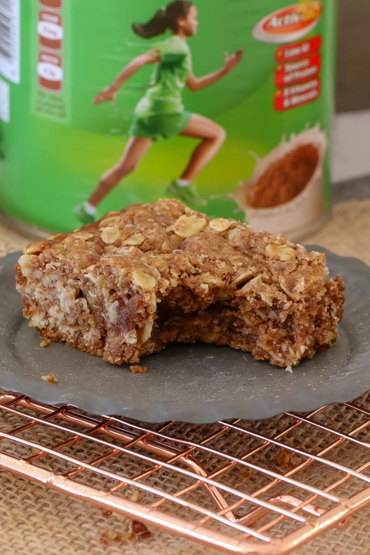 Lunch box recipes don't come any quicker or easier than this Milo Slice!