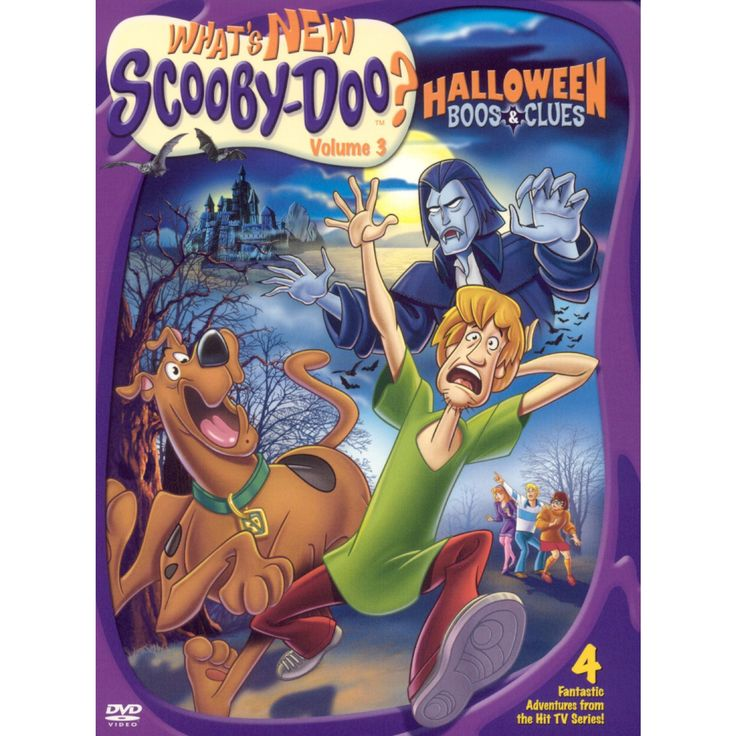 What's New ScoobyDoo Halloween Boos & Clues (DVD)(2004