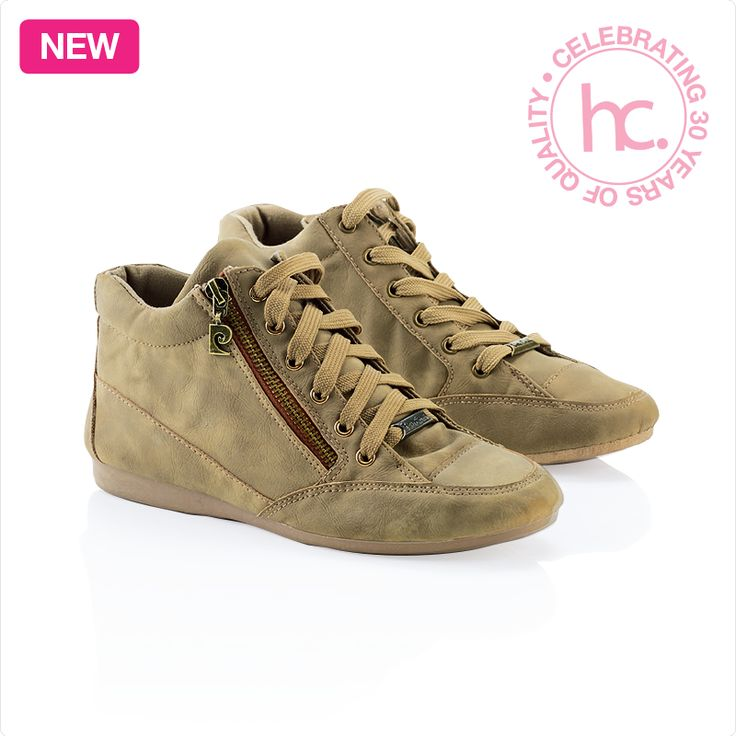 New Maris ladies sneakers Sizes: 3 - 7 Available in black and taupe From R399 cash or only R49 a month! Shop now >> http://www.homechoice.co.za/Fashion/Shoes/Maris.aspx