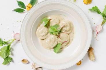 Découvrez cette recette en vidéo pour apprendre cette recette de Ravioles de brebis et asperges