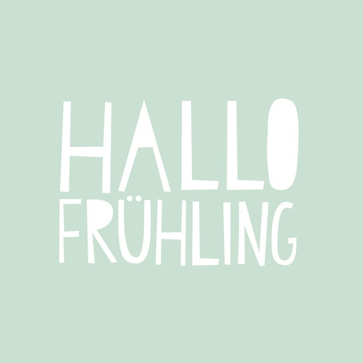 "Servietten ""Hallo Frühling"""