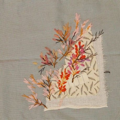 Les roses pâles, les mauves et les fuchsias