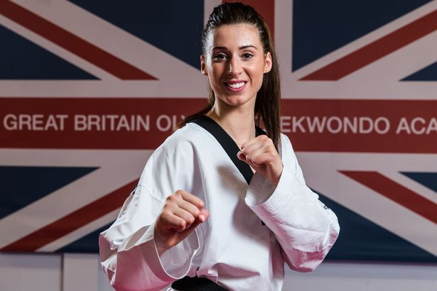 Bianca Walkden Taekwondo FIGHTER