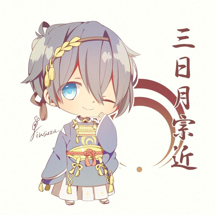 I had been looking at mikazuki touken ranbu for years