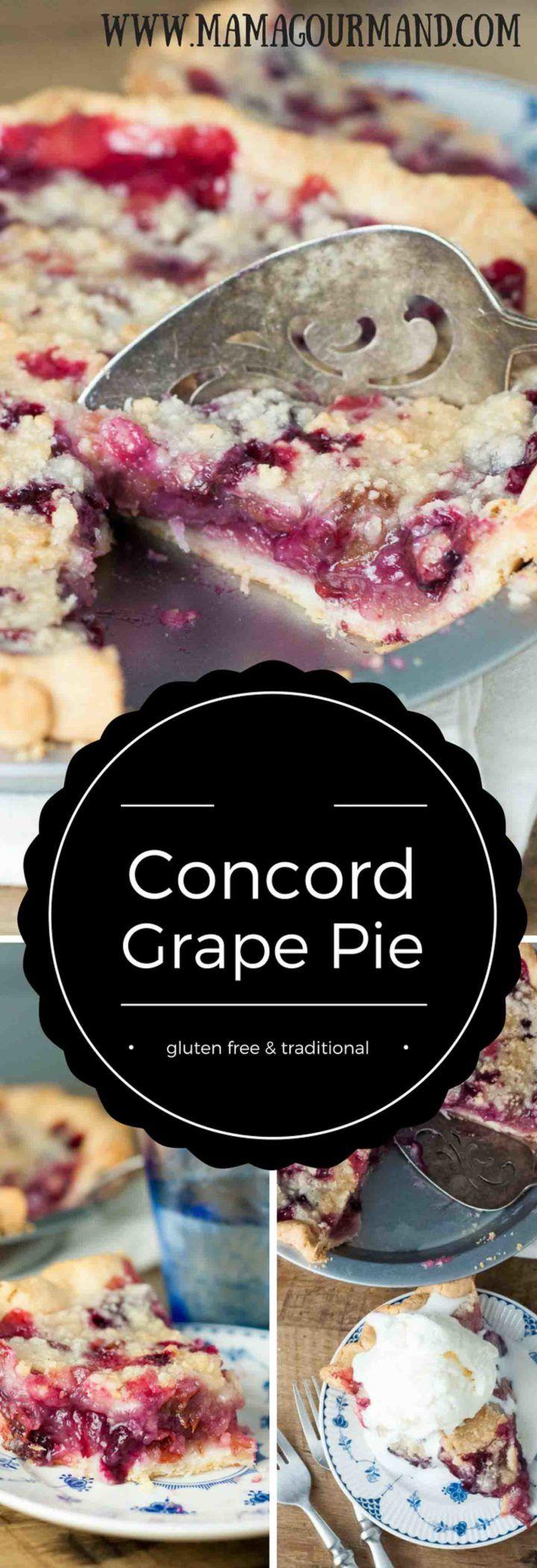 to follow, family recipe for Concord Grape Pie. This Concord Grape Pie ...