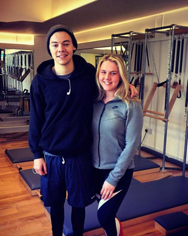 Harry Styles enjoys a pilates class at Exhale Pilates [Kate Gooders/Instagram]