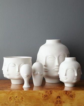 """Jonathan Adler """"Dora Maar"""" Vases & Bowl - Horchow"""
