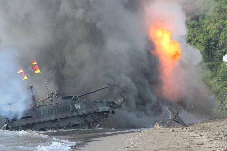 AKS TNI Angkatan Laut Tahun 2017 Diakhiri Pendaratan Amphibi (foto) – JakartaGreater