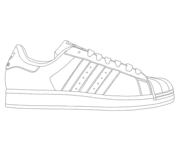 Adidas Superstar template by katus-nemcu on deviantART