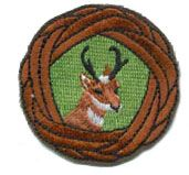Antelope Woggle Patch - Boy Scout Store