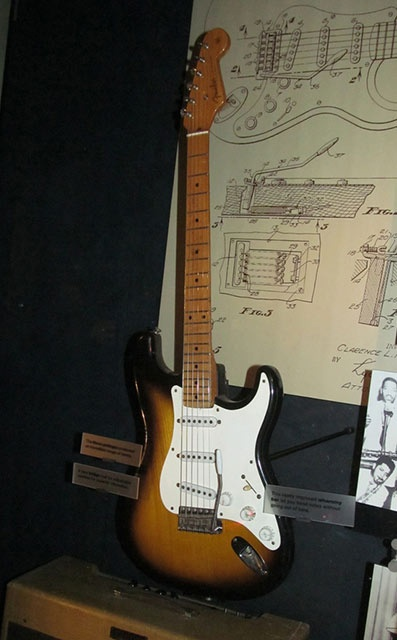 how to tell where a fender stratocaster was made