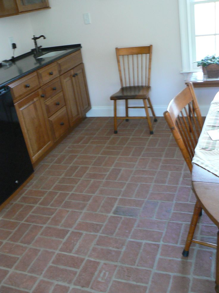 70 Best Kitchen And Dining Room Brick Tile Floors Images On Prepossessing Dining Room Tile Decorating Inspiration