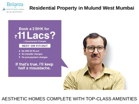 Ariisto Bellanza presents Residential Projects in Mulund Mumbai