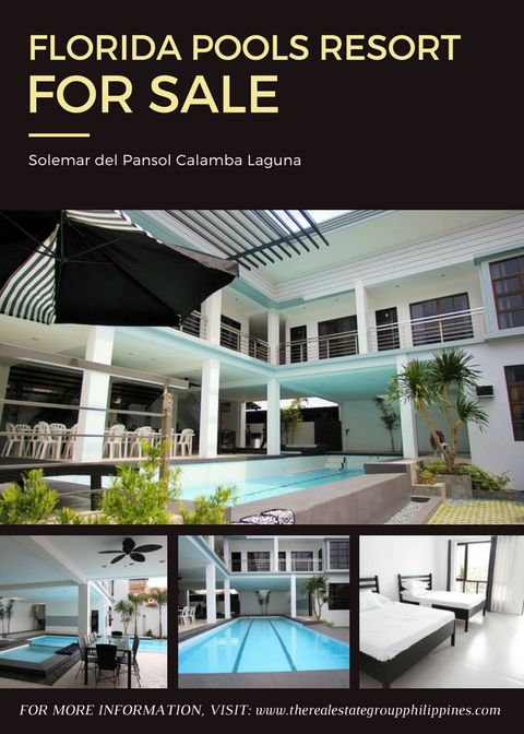 FOR SALE! FLORIDA POOLS RESORT Pools: 1 Lap Pool 1 Kids Pool 1 Jacuzzi Rooms: 6 with own AC Units and Toilet & Bath For 23000000  Inclusive of VAT. With Driver's room Caretaker House and Generator  http://ift.tt/2pTDlIg