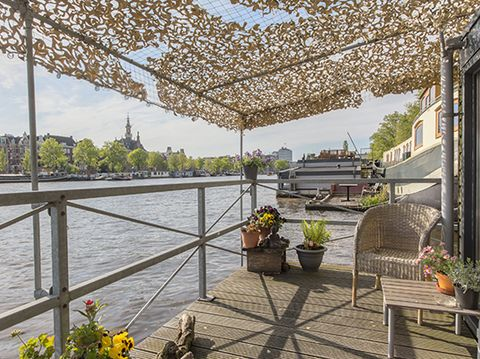 Schöne Hausboote und Appartements in Amsterdam. Amsterdam Apartment & Houseboat Mietunterkünfte in Amsterdam luxuriöse Appartements zu mieten.
