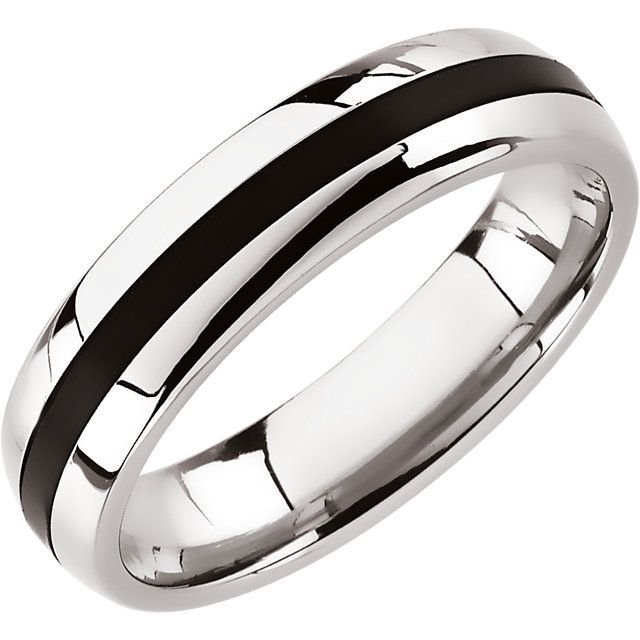 Stainless Steel Black Rubber Band...(STSTST868:011:P).! Price: $39.99