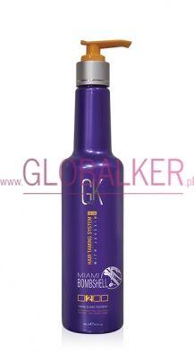 Global Keratin miami bombshell 280ml. Blonde Hair GK Hair Juvexin Warszawa