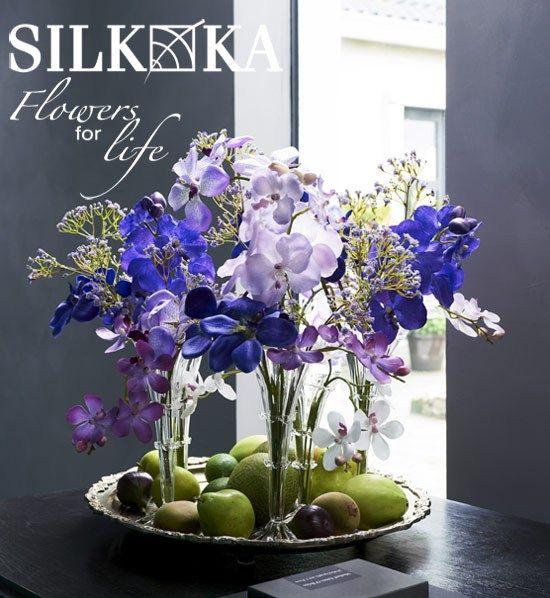 Kwaliteit sfeervolle zijdebloemen, sfeer en decoratie voor binnen! Van Silk-Ka Allemaal verkrijgbaar binnenkort @Warentuin