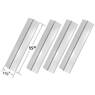 Grillpartszone- Grill Parts Store Canada - Get BBQ Parts,Grill Parts Canada: Amana Heat Shield | Replacement 4 Pack Stainless S...