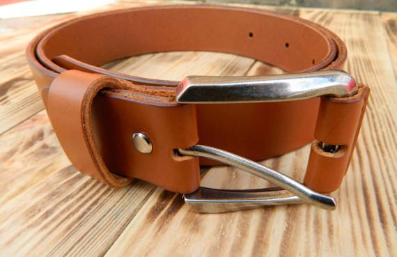 Brown leather belt, Mens brown belt, Womens brown leather belt, Tan leather belt, Leather belt, Leather straps, Custom leather belts