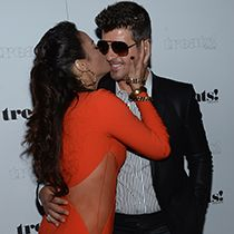 Robin Thicke and Paula Patton our on PDA after butt-grabbing scandal