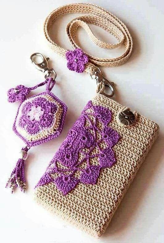 Petit sac et porte clés