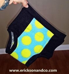 Erickson and Co.: Toddler Potty Training Pants Sewing Tutorial and Free Pattern in Three Sizes