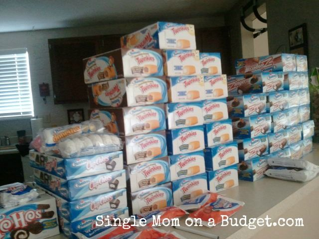 Hostess Twinkies and Donuts and Zingers and Cup Cakes and Suzy Qs >>> selling on eBay.