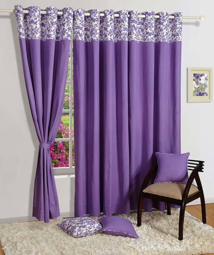 Concept Printed Curtain · Printed CurtainsBlackout CurtainsDeep  PurpleCurtainsBlack Blinds