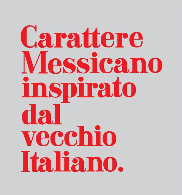 Spinto Typeface. by Marcela Garza Garza, via Behance