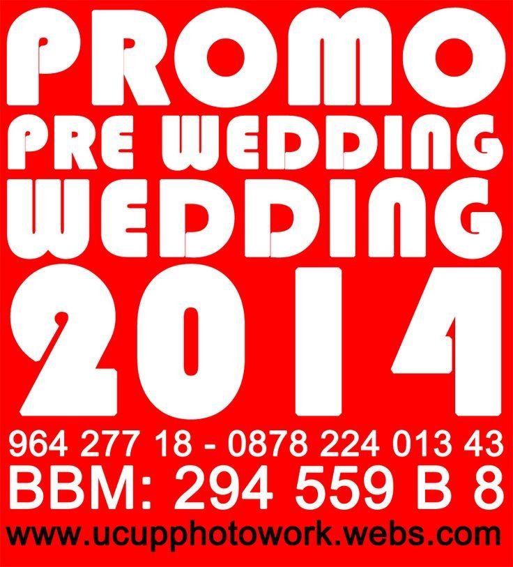 #promo #wedding #prewedding #2014 #jasa #foto #video #jakarta