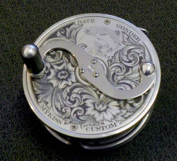 Dave Alderson Fly Reel - a workable piece of art and craftsmanship.