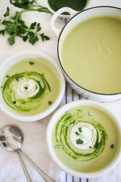 Simple and healthy Celery Root & Fennel Soup - deceivingly rich and creamy, this is vegan and low in fat! Perfect for our New Years Resolutions!