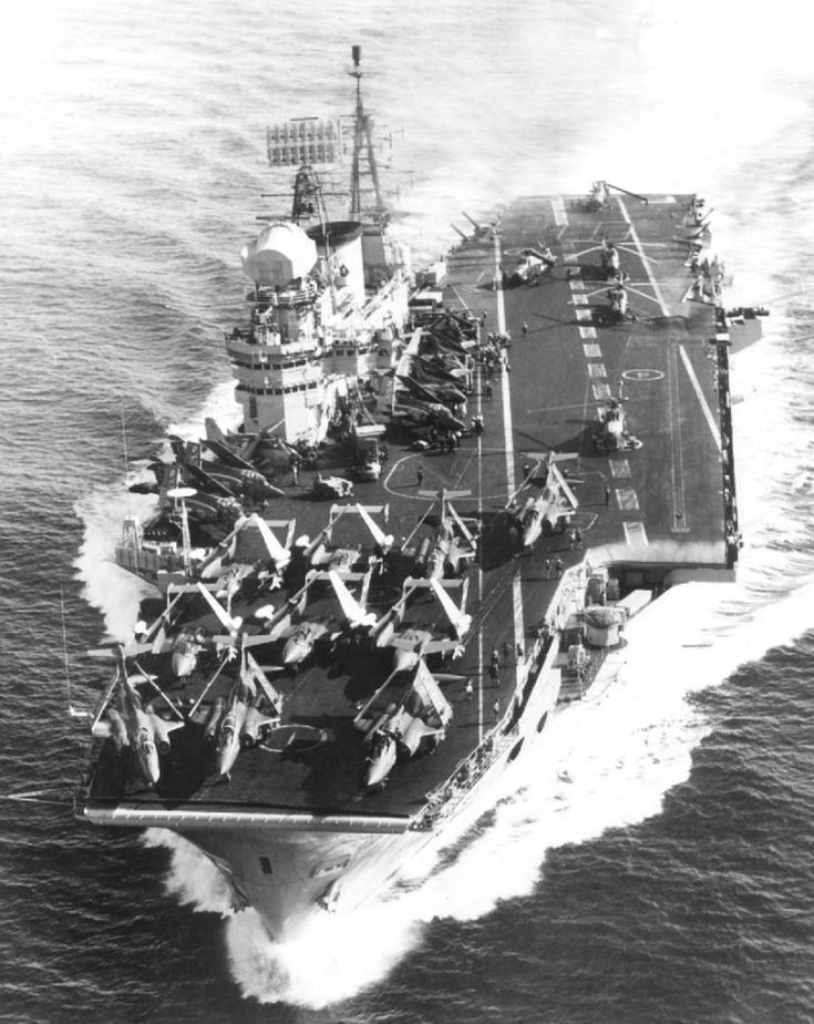 MaritimeQuest HMS Eagle R05 in 2020 Royal navy ships