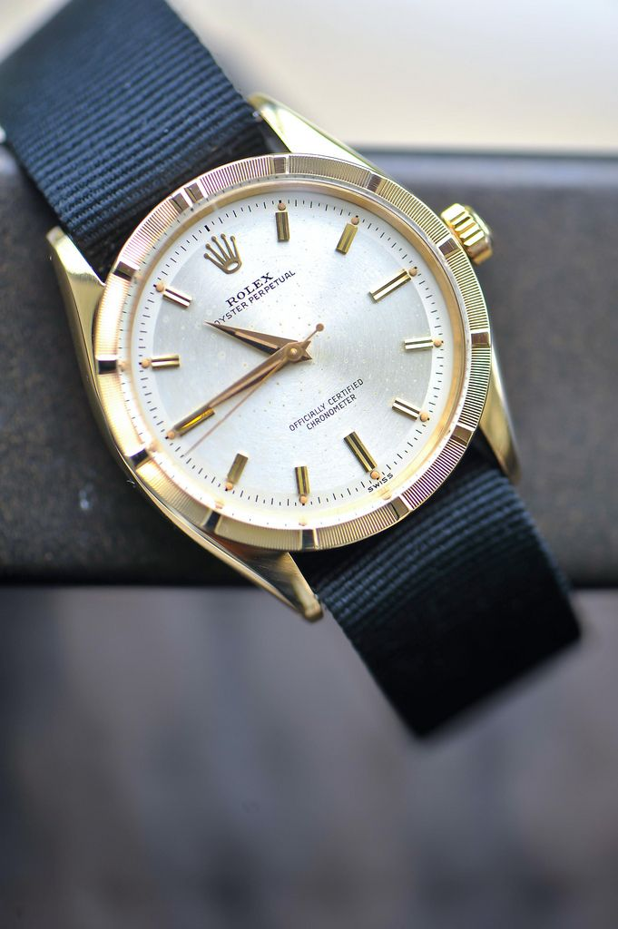 I'm not the biggest fan of Rolex, but the pairing with a simple band really works.
