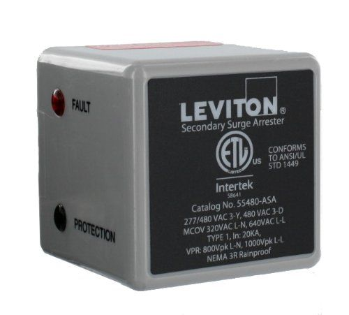 Leviton 55480asa 3 Phase 277 480 V Wye Or 3 Phase 240 V Delta Type 1 Surge Arrester Want To Know More Click On The Image Surge Protectors Cool Things To Buy