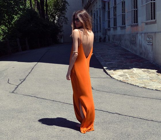 H Dress, minimalistic, strappy, silky dress