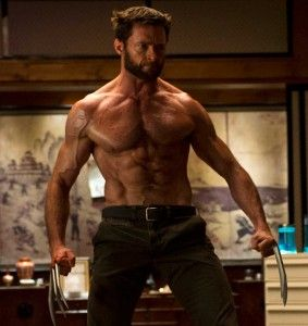 hugh jackman workout and diet for wolverine