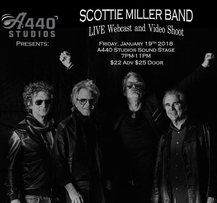 January 19th, 2018! A440 Studio's in New Hope, MN PRESENTS A Concert and LIVE WEBCAST with Scottie Miller Band! Tickets on sale NOW! https://m.bpt.me/event/3213229