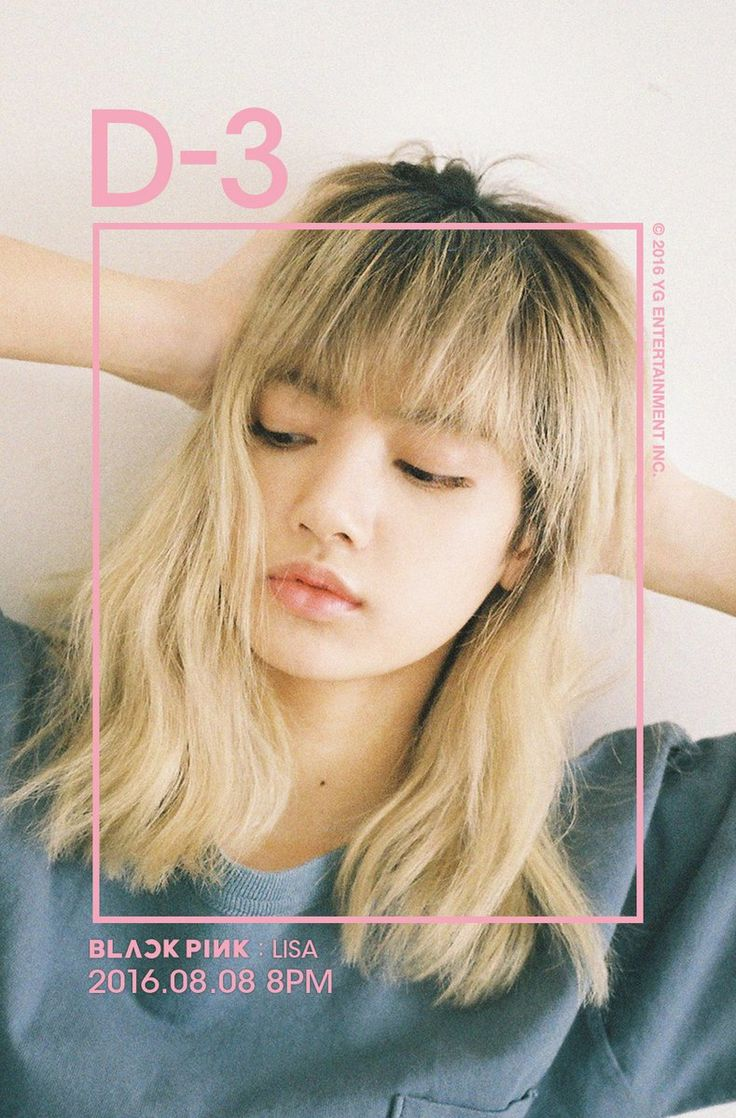 """[BLACKPINK IN YOUR AREA D-3 """"LISA""""] originally posted by http://yg-life.com…"""