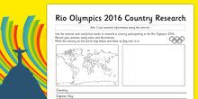 Rio 2016 Olympics BMX Cycling Display Letters and Numbers Pack
